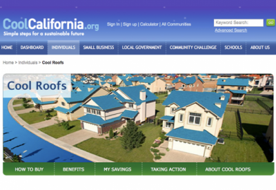The CoolCalifornia.org Cool Roof Website Is A Resource For Homeowners To  Identify Cool Roof Products, Incentives U0026 Rebates, And Building Codes.